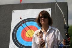 Kneginji Jelisaveti svečano uručen streličarski luk (29. maj 2010.)