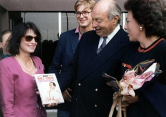 Princeza Jelisaveta na promociji knjige KNEZ PAVLE KARAĐORĐEVIĆ - JEDNA ZAKASNELA BIOGRAFIJA