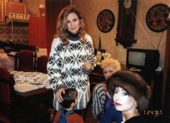 Princeza Jelisaveta i Fejt Denijels na snimanju TV emisije DATELINE