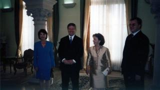 Ceremonija uručenja ključeva Dvorskog kompleksa na Dedinju