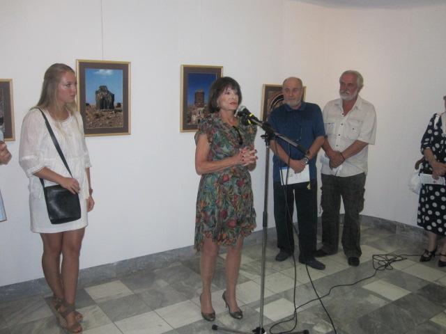 """Kneginja Jelisaveta na otvaranju izložbe """"Ani - trag na Putu svile"""" u Somboru"""