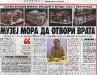 VEČERNJE NOVOSTI, 26. novembar 2009.