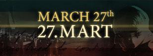 27. mart