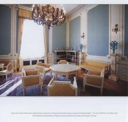 Iz kataloga izložbe: Salon kneza Pavla u Domu Narodne skupštine