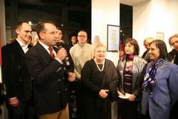 Otvaranje izložbe radova princeze Jelisavete (Kuća kralja Petra I, 8.12.2015.)