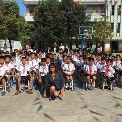 Princeza Jelisaveta otvorila osnovnu školu u Kini