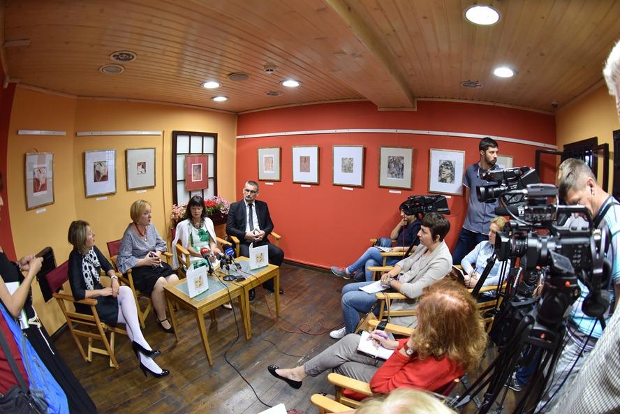 Konferencija za medije (Foto: Vuk Nenezić VR Photo team)